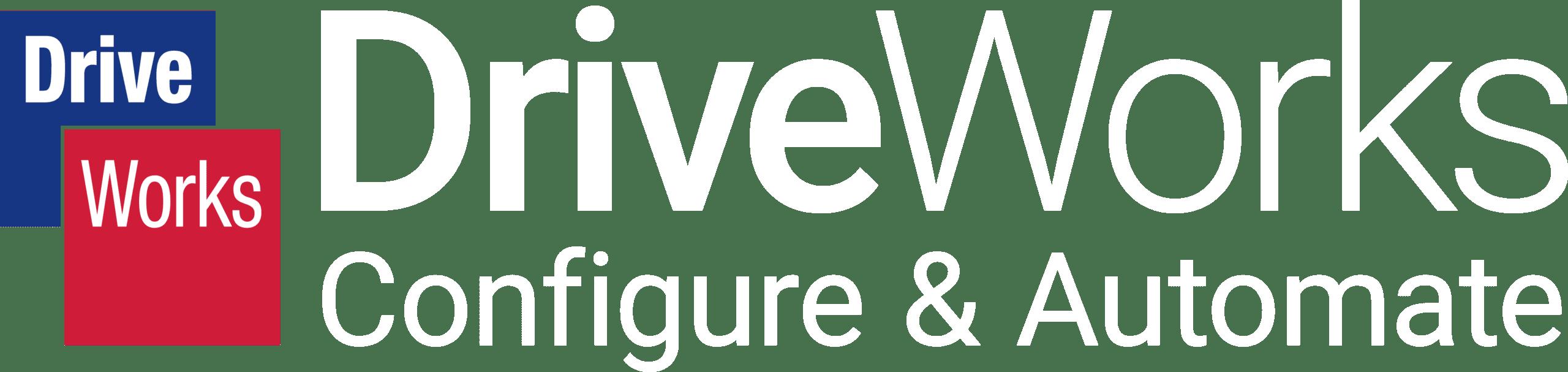 DriveWorks-Logo-Configure&Automate-White