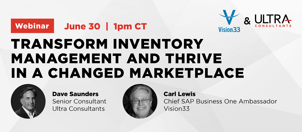 Webinar Title Image: Transform Inventory Management and Thrive in a Changed Marketplace