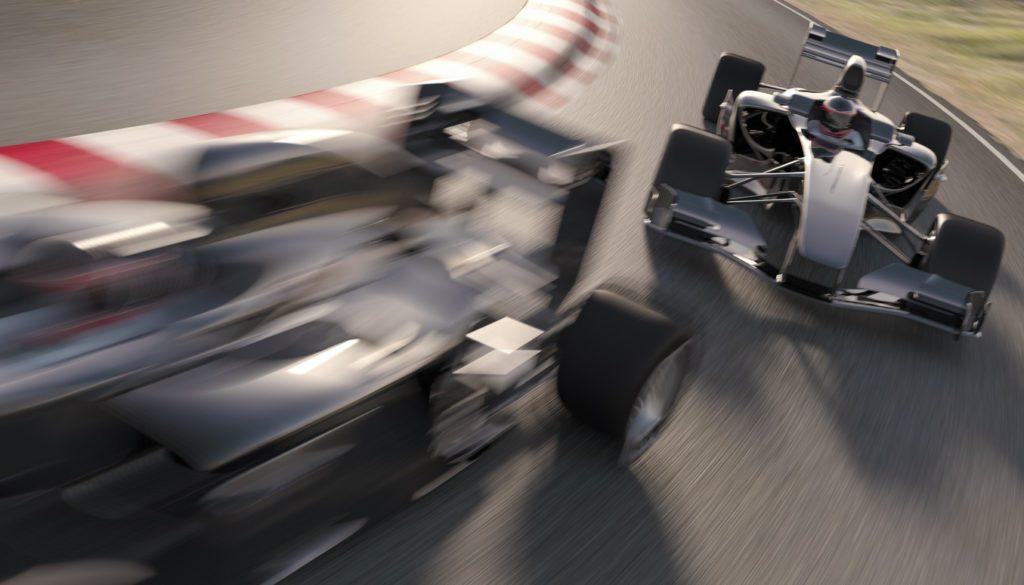accelerating