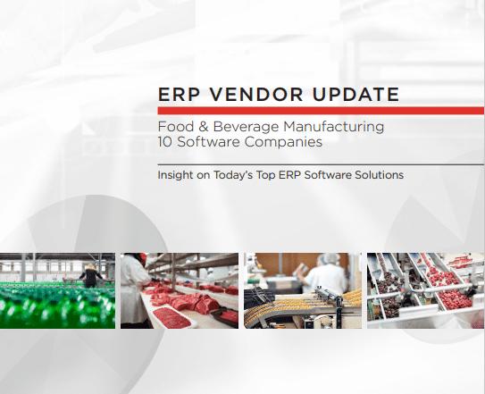 Food & Beverage ERP Vendor Report