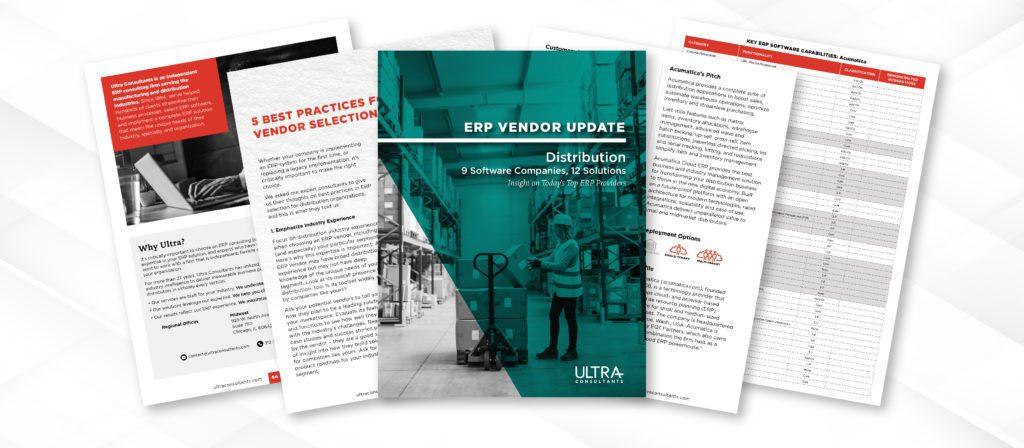 ERP Vendor Update Dist LP