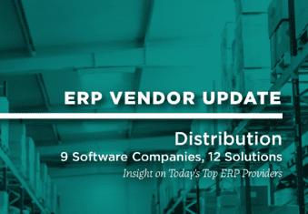 ERP Vendor Update - Distribution - Ebook